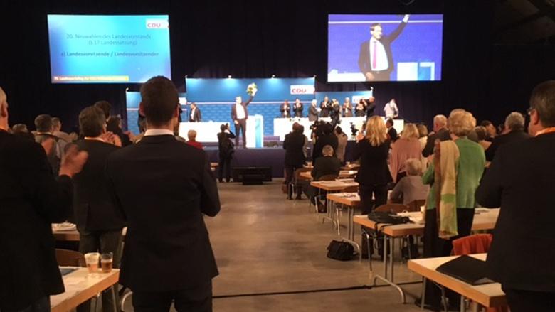 70. Parteitag der CDU in Neumünster